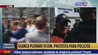LIVE News24 Albania - Protesta e Opozites