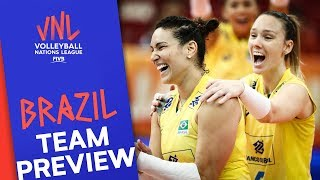 Brazil Women   Team Preview   Volleyball Nations League 2019