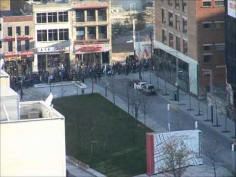 Manifestation Palestine Montreal 18 Novembre 2012