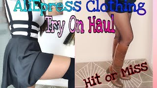 TRY ON HAUL WINTER SHORTS and SKATER SKIRT AliExpress