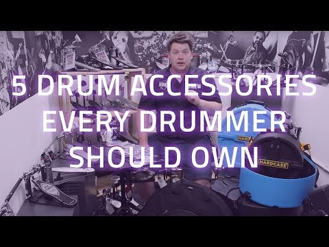 5 Drum Accessories Every Drummer Should Own