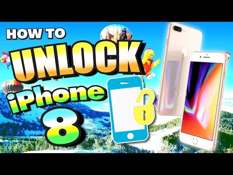 How To UNLOCK iPhone 8! (WORKS 100%) - SAFE, QUICK, and LEGAL (AT&T, T-Mobile, Vodafone, & MORE)