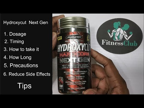 Hydroxycut | Detailed Info | Dosage | Timing | How To Take | Overcome Side Effects | Tips