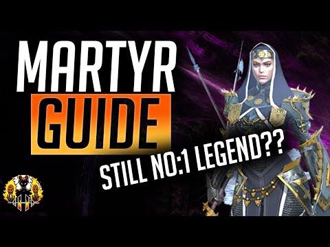 RAID: Shadow Legends | Martyr Guide | The original number 1 Legendary!