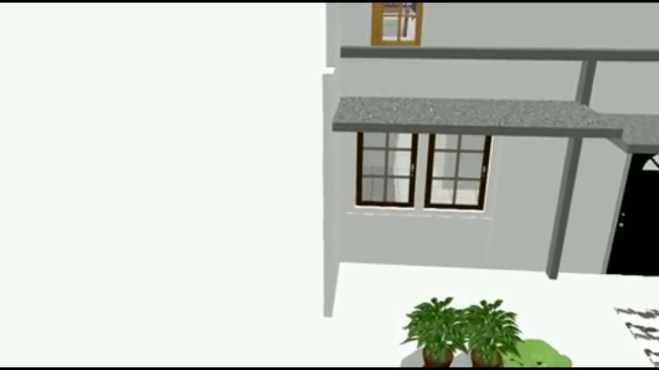 Desain Rumah 5x7 2 Lantai Minimalis Youtube