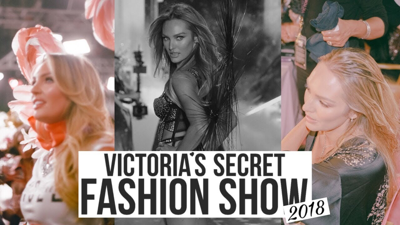 Candice Swanepoel's 2018 Victoria's Secret Fashion Show Fittings and Full Runway Walk HD