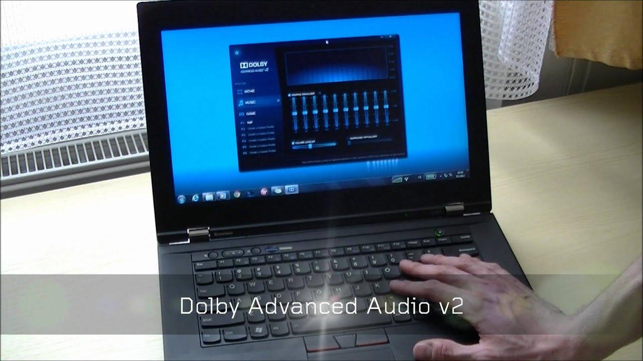 LENOVO THINKPAD L430 DOLBY ADVANCED AUDIO V2 WINDOWS 8 X64 TREIBER