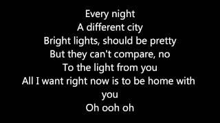 Cody simpson -Wish you were here (lyrics)