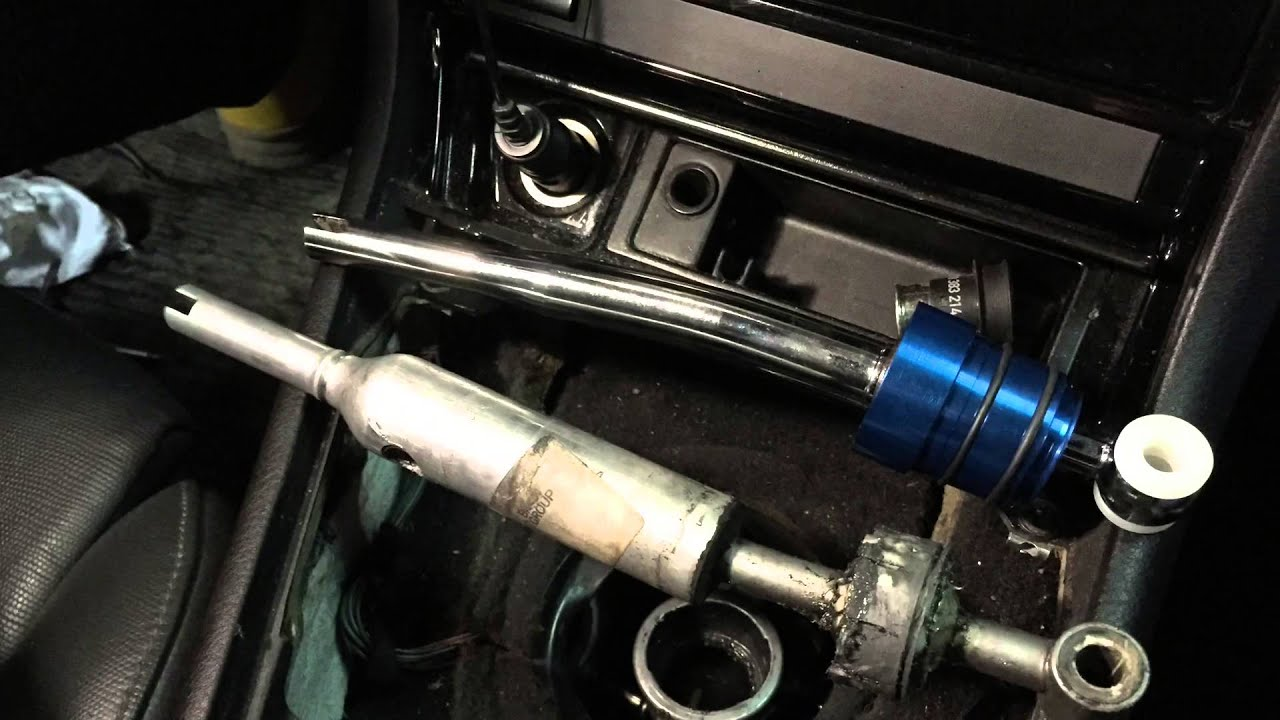 Short Shifter Bmw E46 Youtube