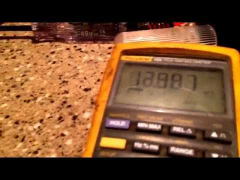 Norcold Thermistor how to test - YouTube