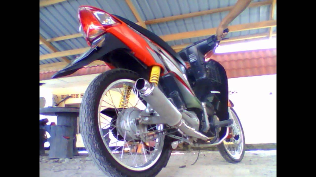 honda wave 100 yy pang ekzos - YouTube for Motor Honda Wave 100  15lptgx