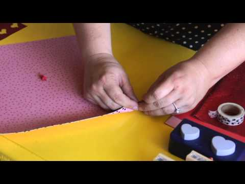 How to Make a Huge Valentine's Card : Scrapbooking & Other Crafts