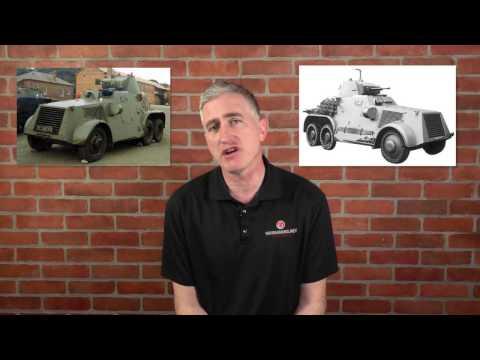 Irish Armoured Vehicles.