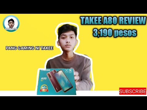 TAKEE A80 K1 REVIEW: NAPAKAMURA MALAKI YUNG SPEC NITO-BUDGET PHONE REVIEW