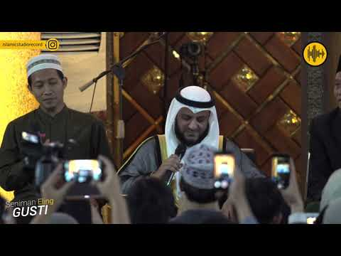 Viral Syaikh Misyari Rasyid Rahman Ya Rahman Di Uns Solo