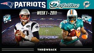 Tom's Monday Night Show! (Patriots vs. Dolphins 2011, Week 1)