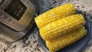 Instant Pot Pressure Cooker Corn on the Cob | Easy Recipe
