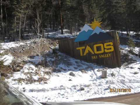 Snowboarding Taos, Santa Fe 2010