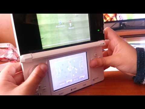 Juego un partido épico en mi Nintendo 3DS.