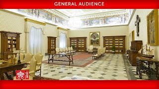 June 24 2020 General Audience Pope Francis