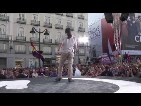 """Pablo Iglesias: """"Hay una España de esperanza abriéndose paso frente al miedo"""""""