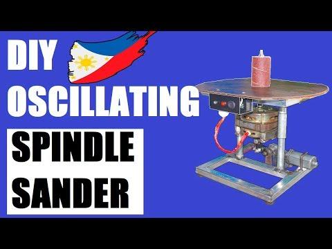 Spindle Sander Oscillating (DIY)