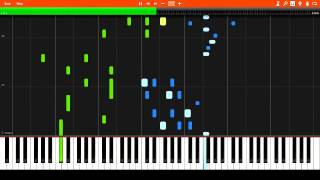 James Scott - Hilarity Rag (1910) Synthesia Piano Tutorial + Sheet Music