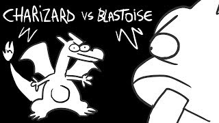 CHARIZARD VS BLASTOISE