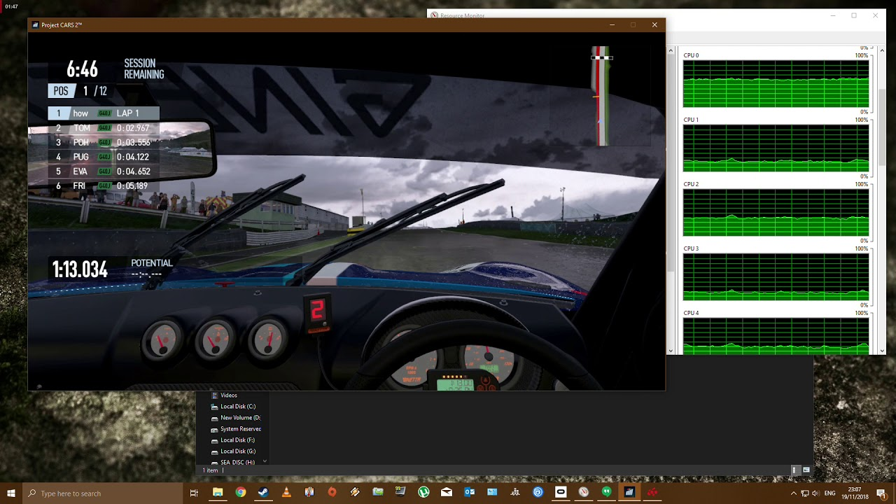 Very poor performance Project Cars 2 in VR | Overclockers UK