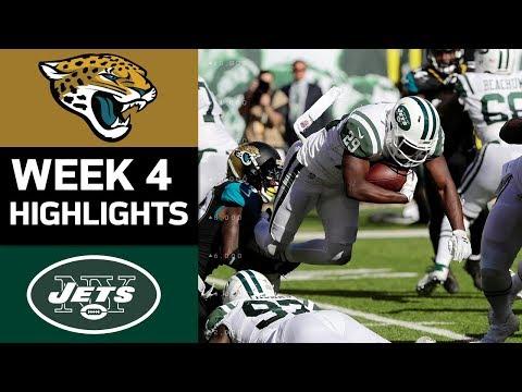 Jaguars vs. Jets | NFL Week 4 Game Highlights