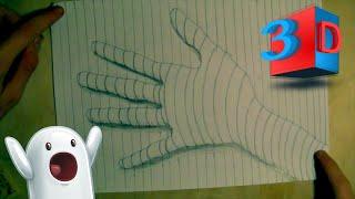 Как нарисовать 3D руку/Простой объемный рисунок(Художник не ахти;) Всем привет! Меня зовут Петр. Добро пожаловать на мой канал Напор ТВ! На канале ты найдешь..., 2016-06-08T08:58:41.000Z)