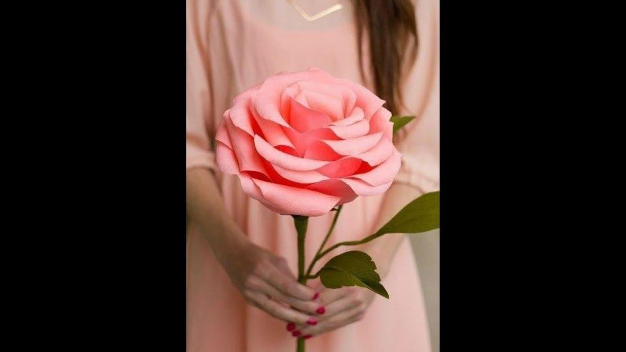 Розы бумаги своими руками мастер класс 188