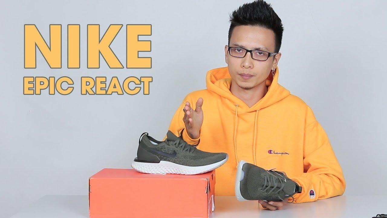 Đánh giá Nike Epic React : liệu có cân được adidas Ultra Boost ?