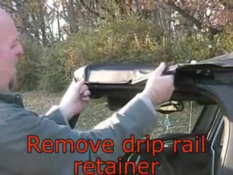 how to remove a jeep wrangler soft top instructional video youtube. Black Bedroom Furniture Sets. Home Design Ideas