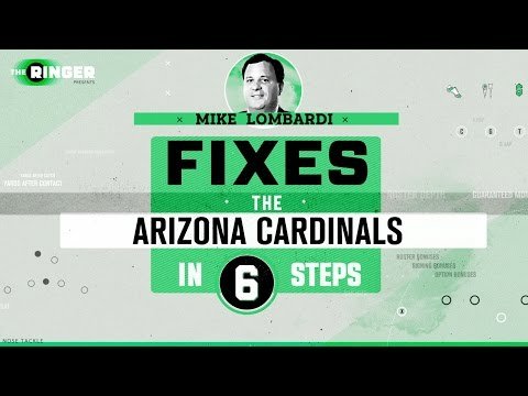How to Fix the Arizona Cardinals in Six Steps | Michael Lombardi | The Ringer