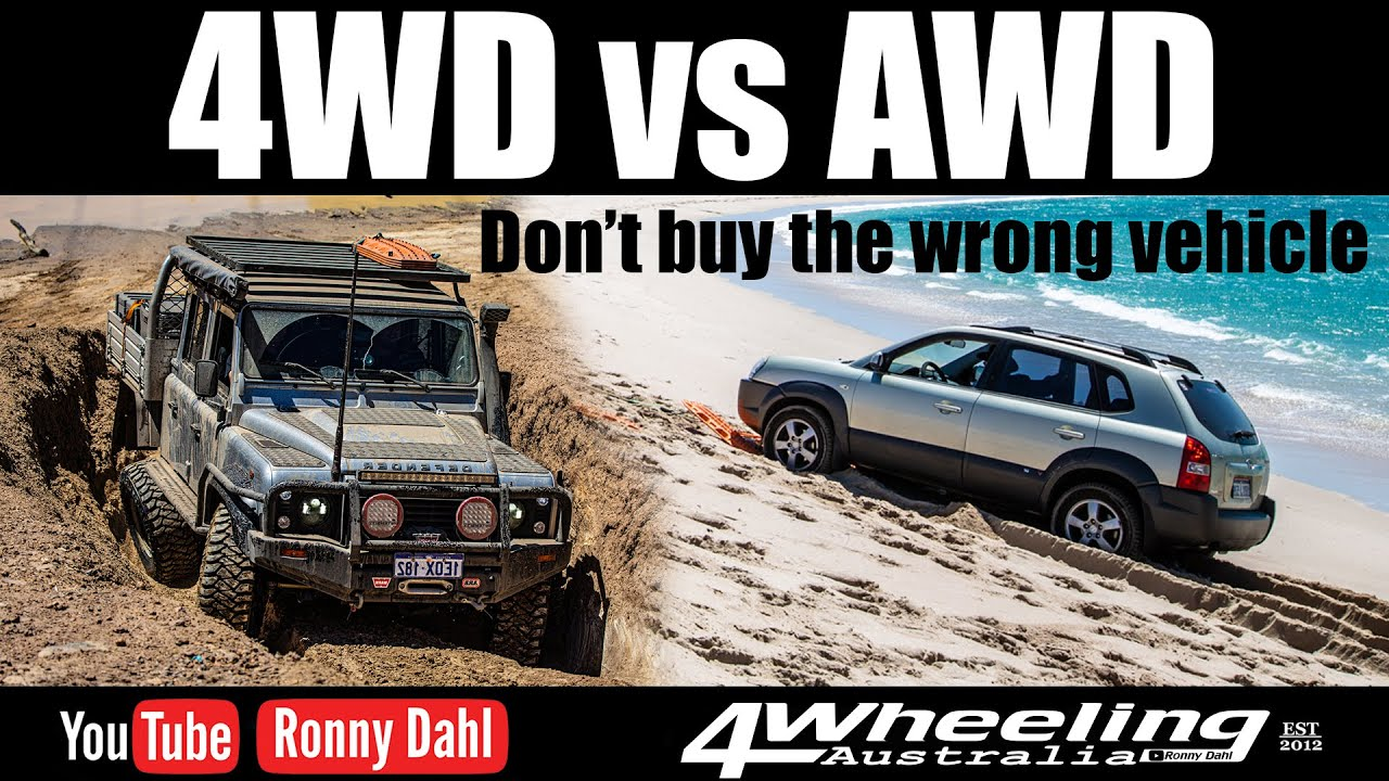4wd Vs Awd Off Road Youtube