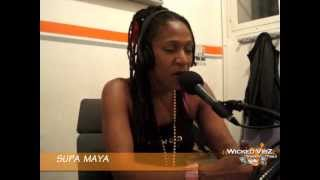SUPA MAYA @ Wicked Vibz Station 106.3 FM