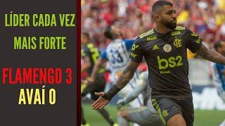 Flamengo espreme o Avaí em mais uma vitória de líder. E o Fluminense respira