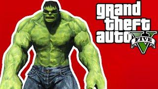 YEŞİL DEV!! - GTA 5 Hulk Modu