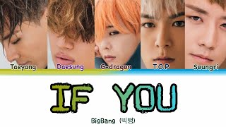 BigBang (빅뱅) — IF YOU (Color Coded Lyrics HAN/ROM/ENG) x han…