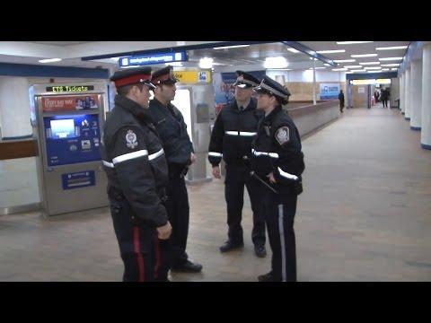 ETS Street Team: On The Job - ETS Transit Peace Officer