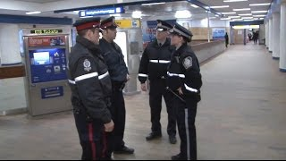 ETS Street Team: On The Job - ETS Transit Peace Officer