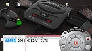 видео урок по взлому игры Sega Mega Drive на бесконечную энергию