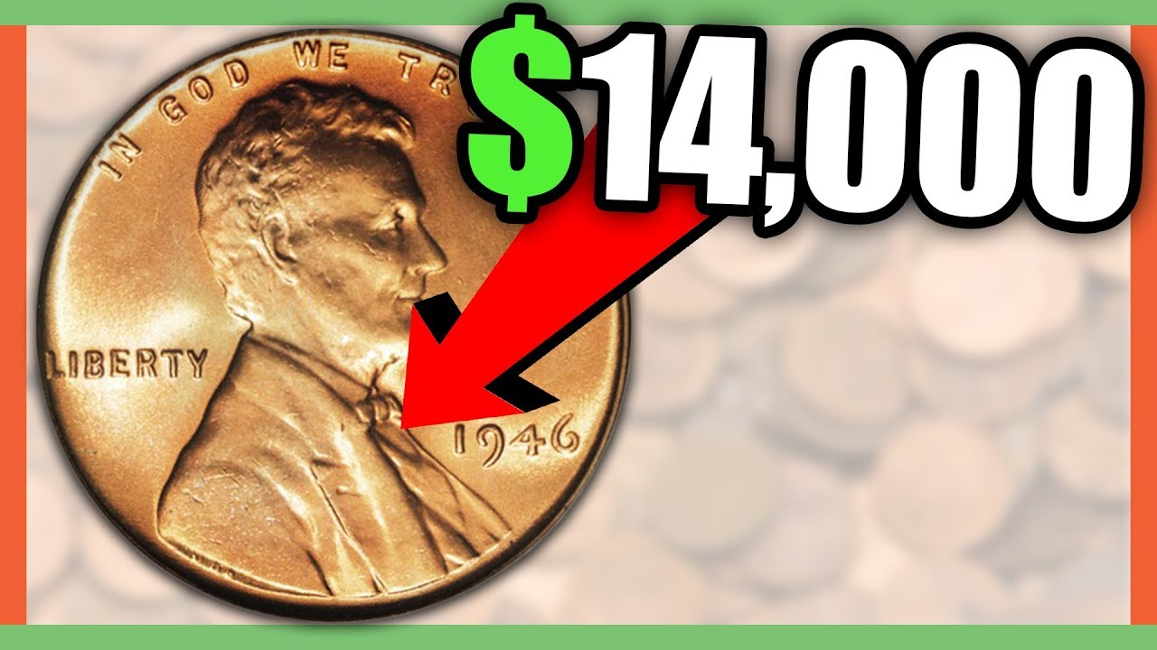 HOW MUCH IS A 1946 PENNY WORTH - RARE PENNIES WORTH MONEY!!