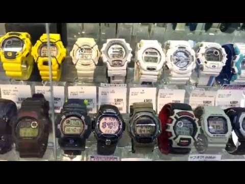 G-Shock hunting at thrift store #2 | Book Off PLUS