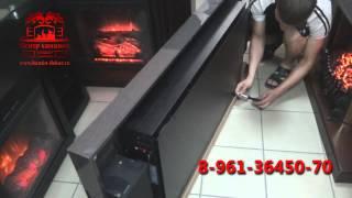 Распаковка и установка настенного камина Соло 100s Brown(, 2013-06-18T04:51:04.000Z)