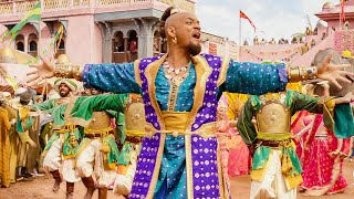 Will Smith sings Prince Ali Scene ALADDIN Movie