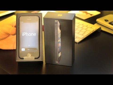 Как выглядит айфон 5 черный