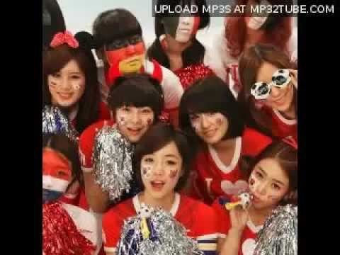 [HQ/MP3/DL]T-Ara (티아라) - We Are The One (월드컵송) [World Cup Song]