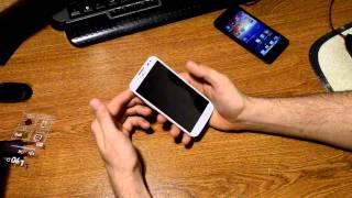 распаковка смартфона LG L90 ( D410 )